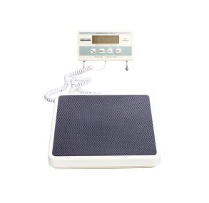 Health O Meter 349KLX Digital Scale, Remote Display, Capacity 400 lb., Resolution 0.2 lb., 12-1/2'' x 12'' x 1-7/8'' Platform