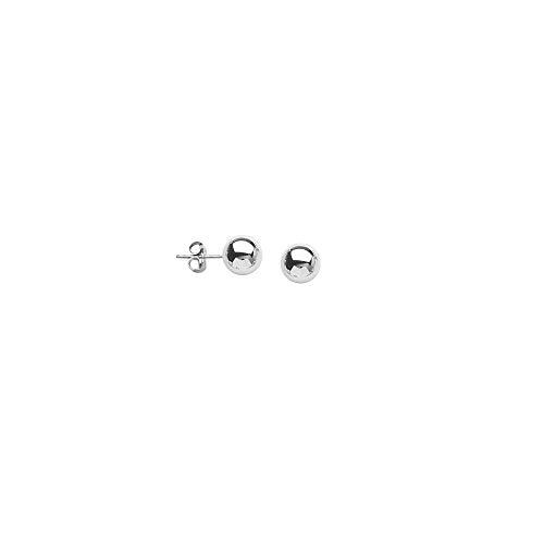 Ball Earring Ss 7Mm Ball Post Earring