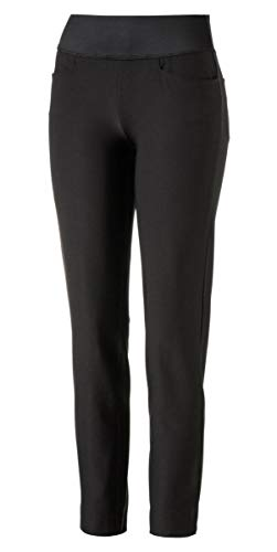 Puma Golf Women's 2018 Pwrshape Pull on Pants, Puma Black, Medium