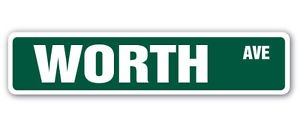 WORTH AVE Street Sticker Sign Florida shopping Palm Beach love to shopper shop - Worth Ave Shops