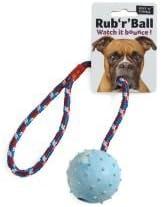 Ruff N Tumble Rub R Balón de Cuerda y bola Tug Toy 6 cm sgl ...