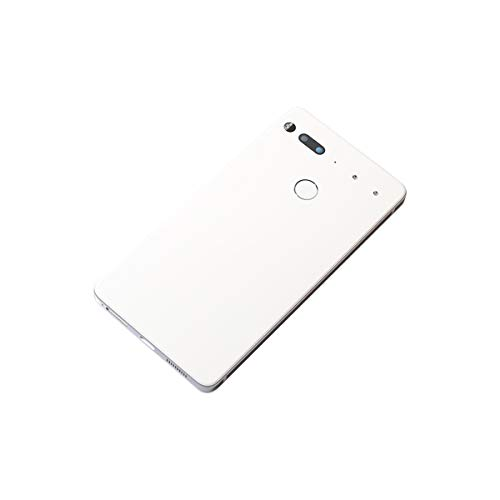 CENTAURUS Replacement for Essential Phone PH-1 Battery Back Cover Rear Housing Door + Frame Compatible with Essential Phone PH-1 5.7 inch (White)