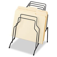 * Step File, Eight Sections, Wire, 10 1/8 x 12 1/8 x 11 7/8, Black