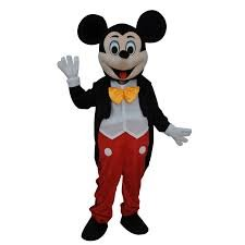 Mickey Mascot Costumes (Mascot Costume Character Adult Size for Christmas Halloween (A))