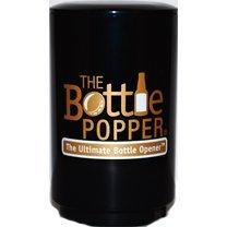 Beer Bottle Opener Bottle Popper By The ORIGINAL Bottle popper, Black & Gold, Automatic Bottle Opener
