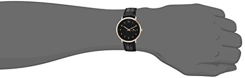 Tommy Hilfiger Men's 'SOPHISTICATED SPORT' Quartz Silver and Gold and Leather Casual Watch, Color:Black (Model: 1791339)