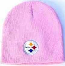 00605ce39 Image Unavailable. Image not available for. Color  Pittsburgh Steelers NFL  Uncuffed Classic Style Knit Winter Beanie Hat ...