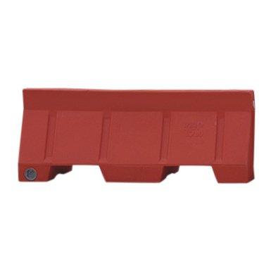 Portable Jersey Barrier System- Plastic (Orange)
