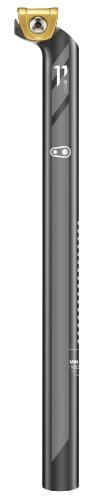 - Crank Brothers Setback 7 x 7 Cobalt 11 Seatpost, 400/27.2/20mm, Black/Gold