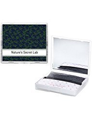 - [200 Counts + Mirror Case] Bamboo Charcoal Face Oil Blotting Paper Sheets with Makeup Mirror - Oil Absorbing Sheets made in Japan