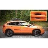 Carbon Fiber Auto Accessory Car Door Handle Scratch Cover Guards Protector Fits Mini Cooper Countryman