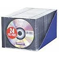 Staples® Standard CD Jewel Case, 24/Pack