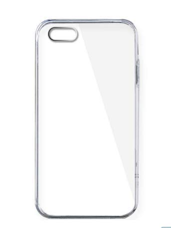 Plain TPU Rubber Case Cover for Apple iPhone 4/4s - Non-Retail Packaging - Clear