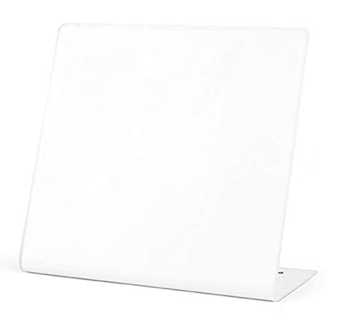Eutuxia Memo Board. Keep Notes, Photos, Credit Cards, Messages, Business Cards & More w/Standing Board. Decorative & Easy to Remove. Dry Erase Board for Home, Kitchen & Office. [12