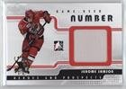 (Jerome Samson #/9 (Hockey Card) 2008-09 In the Game Heroes and Prospects - Game-Used Number - Silver #GUN-37)