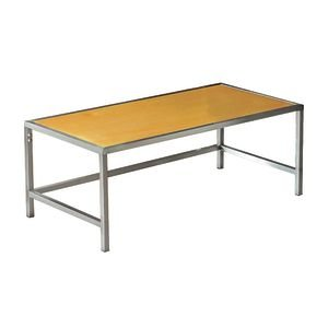 Low Chrome Stacking Tables by Retail Resource