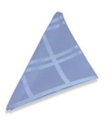 (Origins Microfiber Napkins in Denim Blue (Set of 2))