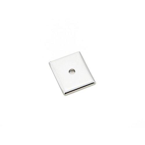 Emtek 86420us26 Curvilinear Collection Neo Backplate For Knob In Polished Chrome