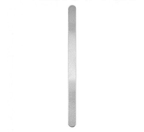 "3/8"" by 6"" ImpressArt Soft Strike 14 Gauge Aluminum Bracelet Stamping Blanks---24 Blanks"