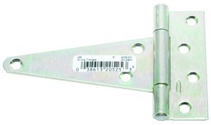 5'' Zinc Extra Heavy T Hinge Without Screws