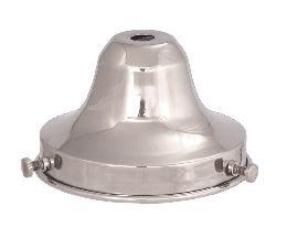 Antique Brass Shade Holder (B&P Lamp 3 1/4