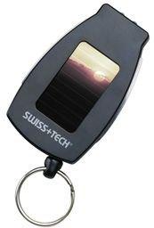 SwissTech 5-in-1 Multi Tool with Solar Flashlight STT60310