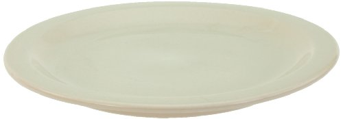 Crestware China Porcelain - Crestware Dover 5-1/2-Inch Plate, Package of 12