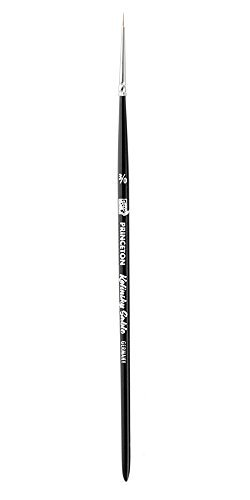 Princeton (1-Pack) 7050 Kolinsky Sable Short Handle Watercolor Paint Brush Size 3/0 Round 7050R3/0-1P Size: 3/0 PackageQuantity: 1, Model:, Office Accessories & Supply Shop