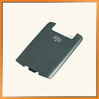 Blackberry 8900 Javelin Titanium Battery Door Back Cover
