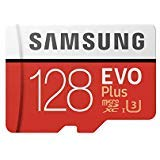 Samsung 128GB MicroSD EVO Plus Series 100MB/s (U3) Micro SDXC Memory Card with Adapter (MB-MC128GA) (1 Pack)
