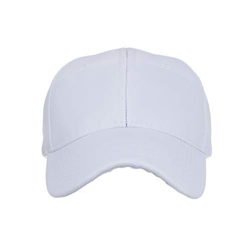 Sunday88 Baseball Caps 100% Cotton Plain Blank Adjustable Size Wholesale LOT 9 Pack White -