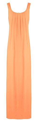 Donna Plain Tags Orange Nude Camicia The da notte xwX4nTF4qZ