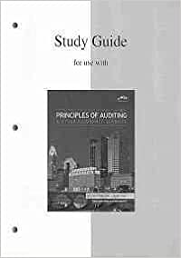 Book Study Guide to accompany Principles of Auditing and Other Assurance Services by Whittington, Ray, Pany, Kurt 17th edition (2009)