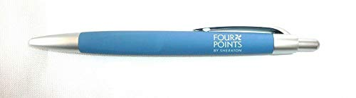 ((LOT OF 50) FOUR POINTS BY SHERATON PENS Ball Point Black Ink Retractable Pens)