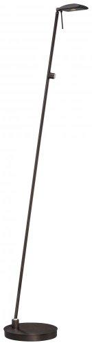 George Kovacs Chrome Floor Lamp - George Kovacs P4324-647 One Light Led Pharmacy