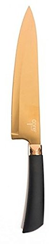 "Core Kitchen Elemental 8"" Blade Titanium Coated Chef's Knife"