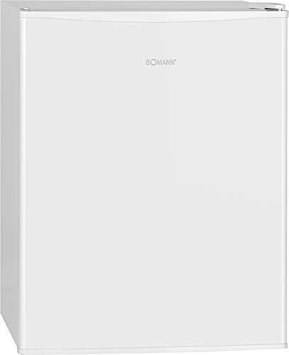 Bomann KB 7235 - Nevera portátil (58 L, compartimento automático, 2 estantes de cristal extraíbles), color blanco