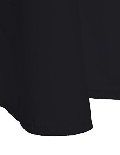 Cindere Jupes Mi Jupe Jupes Longueur De Bandage Occasionnels Pour Les Femmes Robes Longueur Genou Noir
