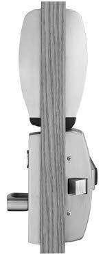 Sargent Profile G1-PK-8877-F-ETL-32D Proximity & Keypad Rim Exit Device w/ Cylinder