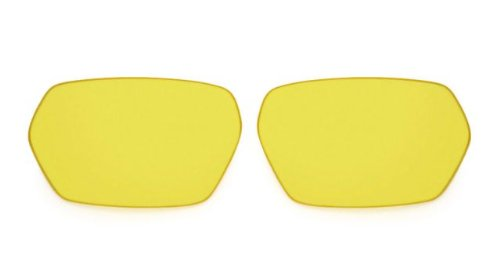 Spy Optic Quanta Scoop Series Replacement Lens Designer Sunglass Accessories - Yellow / One Size Fits - Scoop Sunglasses Spy