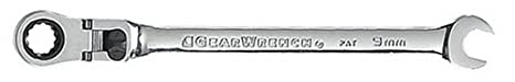 GearWrench 9918 18mm Flex-Head Combination Ratcheting Wrench