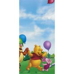 Party Express Pooh Fun Plastic Tablecover