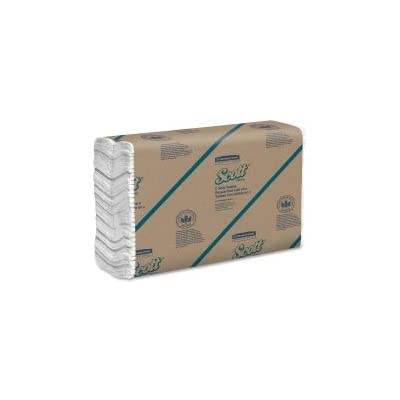 Scott C-fold Paper Towels, 10 1/8 X 13 3/20, White - KCC01510-Case of 2400: Industrial & Scientific