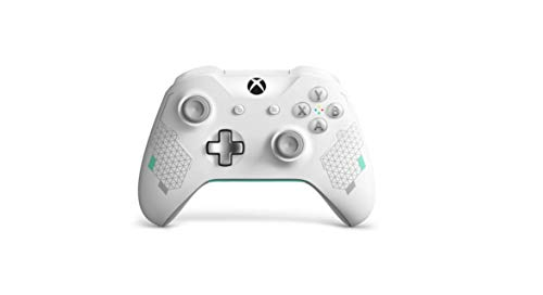 Xbox One Sport White Special Edition Wireless Controller (Renewed)