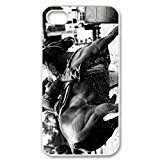 DIY Barrel Racing Cowgirl Custom Case Shell Cover for iPhone 4 4S TPU (Laser Technology) (Cartoon Cowgirl)