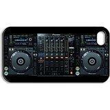 CDJ-2000 Dj Setup Iphone 5 Hard Plastic Case Cover (Black)