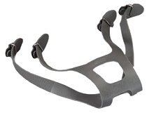 3M 6897 Head Harness Assembly for 6000 Series Full Facepiece Respirator, Plastic, 5