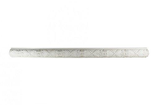 Renovator's Supply Cornice White Urethane Foam Crown Molding Ornate, Sample 11704