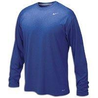 Nike Men's Legend Long Sleeve Tee, Royal, L (Shirt Athletic Mens)
