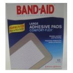 Band-Aid Comfort Flex Adhesive Pads Large 2 7/8 in x 4 in (7.3 cm x 10.1 cm)